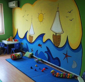 Atelier irma malkurse kiel frei malen kindermalkurse - Wandbemalung kinderzimmer ...